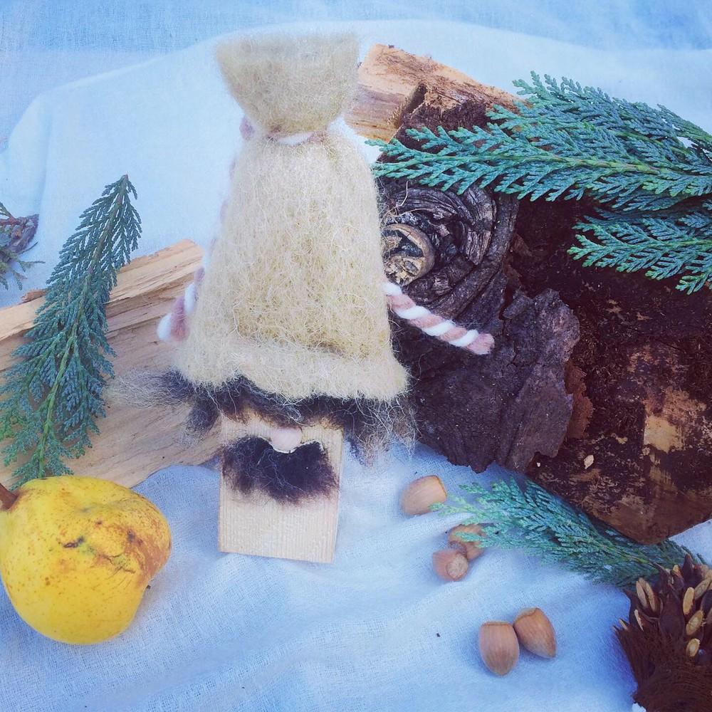 Weihnachtswichtel Kahki