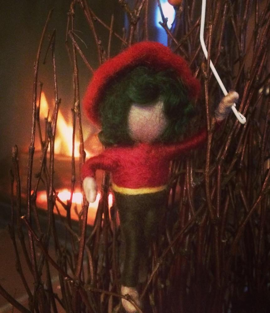 Kleiner Elf zum Anklipsen