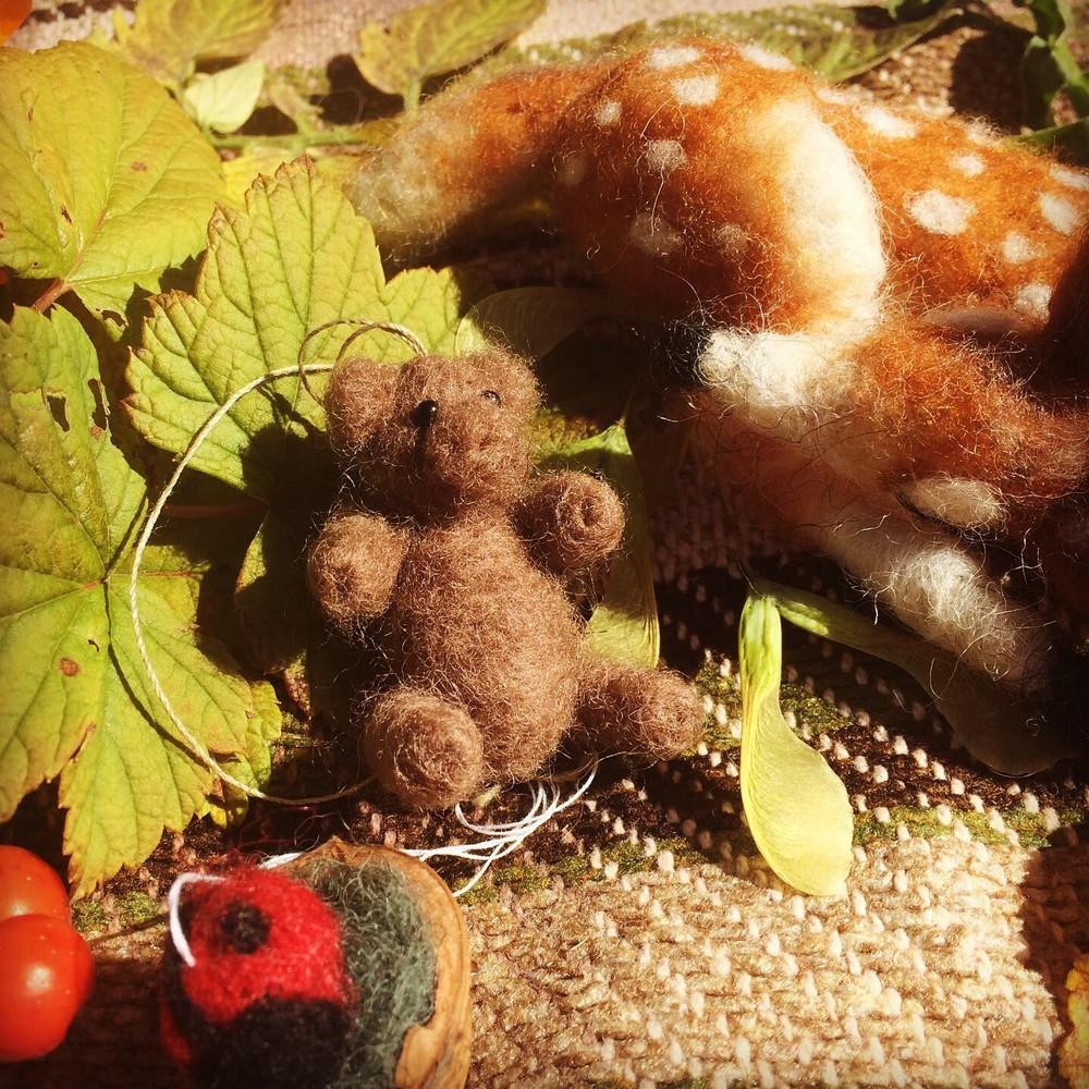 graubrauner Teddybär