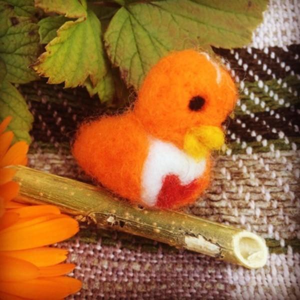 Thumbnail for oranger Vogel