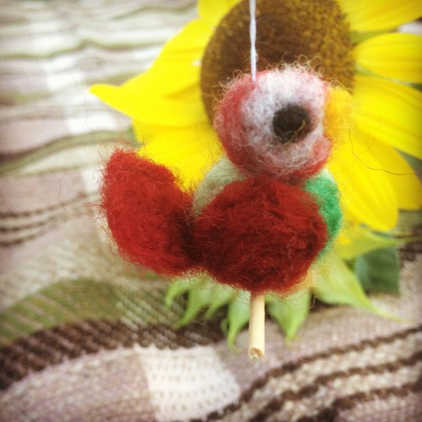 Thumbnail for rotes Vögelchen